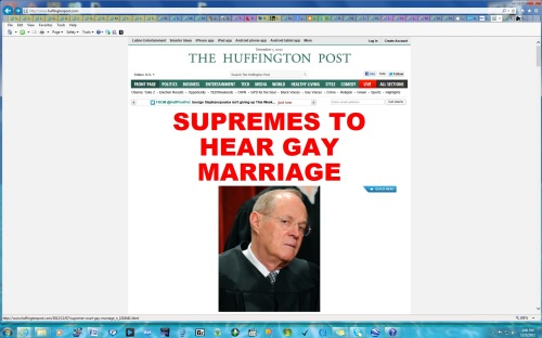 Supreme Court Will Hear Pro8 Doma